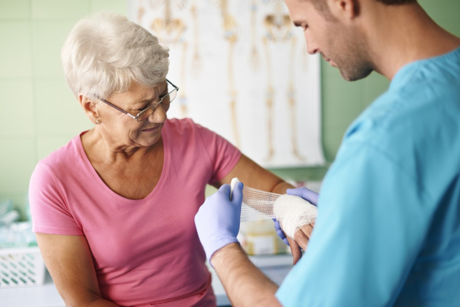 Elderly Care: The Importance of Wound Management